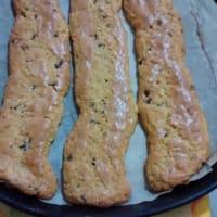 galletas de mantequilla de galletas con chocolate y aroma de naranja paso 6