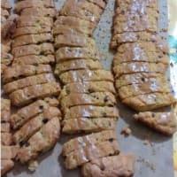 Biscotti frolli al cioccolato con profumo di arancia step 7