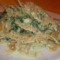 Integral Farfalle with broccoli and cream