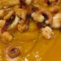 Pumpkin and octopus