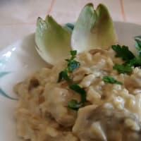 Artichokes risotto