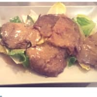 Seitan escalope with white wine cream