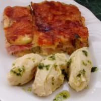 Zucchini Parmigiana sin freír