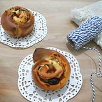 rosas torta del Mediterráneo