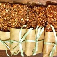 Las barras de cereales y frutos secos