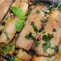 Filetti di aringa in marinata veloce