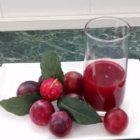 Juice plum fruit