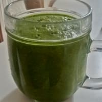 Smoothie spinach