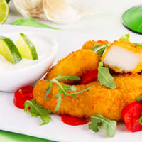 Pollo con salsa allo yogurt e lime