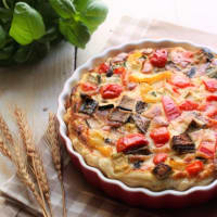 vegetariana quiche