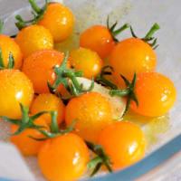Risotto de calabaza y tomates cherry amarillo paso 1