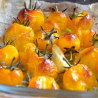 Risotto de calabaza y tomates cherry amarillo paso 3