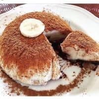 pastel de arroz y plátano