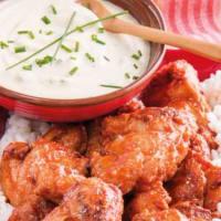 Muslos de pollo con salsa ranchera