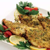 Pechuga de pollo con pistachos