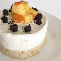Fit mono portion cheesecake