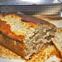 Banana bread light e senza glutine
