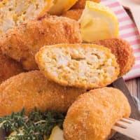 Croquetas de pollo con hierbas
