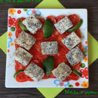 Recipe cod morsels with poppy seeds and lime