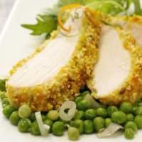 corteza de pollo parmesano