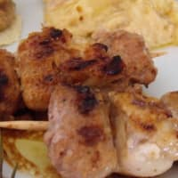 brochetas marinadas Mini