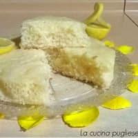 Tarta de limón sin huevos y mantequilla