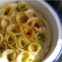 Tarta de manzana con las rosas paso 6