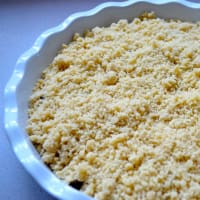 Crumble di prugne step 3