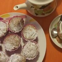 Muffins con mele e cannella