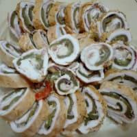 Rollitos de pollo con pimientos paso 10