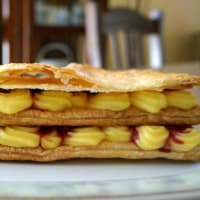 Millefeuille with berries