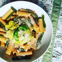 Pasta con verde
