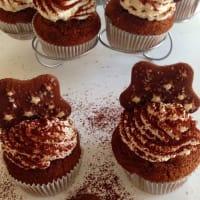Cupcakes pan of stars