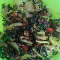 Insalata di riso venere alle verdure