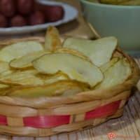 Chips di patate croccanti