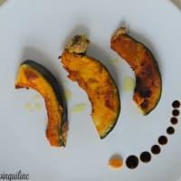 Pumpkin baked kabocha