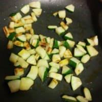 Cous cous verdure e salmone step 1