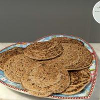 Chapaccine di grano saraceno in padella tigelline senza grassi, sen