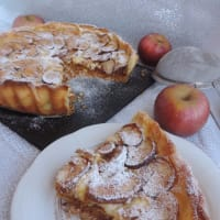 Tart with custard apples and cinnamon step 7