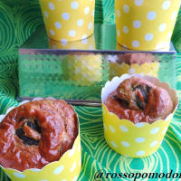 Muffins con asparagi step 1