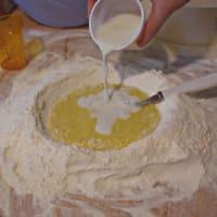 Biscotti al latte senza burro step 1