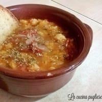 Zuppa di pane alla pugliese