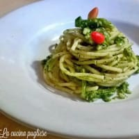 Pasta with broccoli Puglia