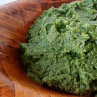 desintoxicación pesto verde