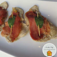 Saltimbocca with ham and sage