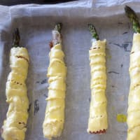 Asparagi in camicia step 3