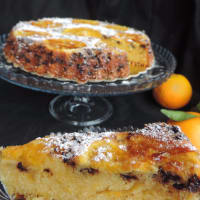 Naranja invertida torta para la Navidad paso 4