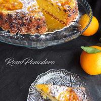 Naranja invertida torta para la Navidad paso 6