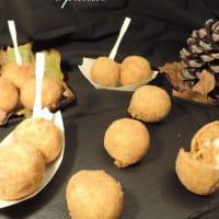 Calabaza y patata croquetas paso 1