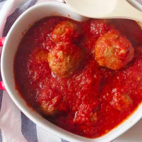 Meatballs in sauce softest